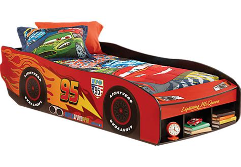 shop for a disney cars lightning mcqueen7 pc bedroom at rooms to go disney cars lightning mcqueen ii red 3 pc twin bed beds
