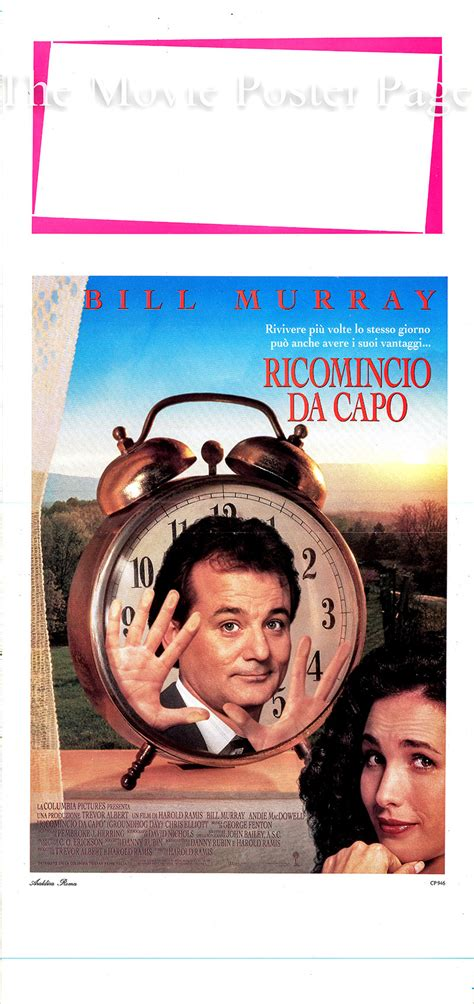 groundhog day ita groundhog day 1993 bill murray italian locandina f