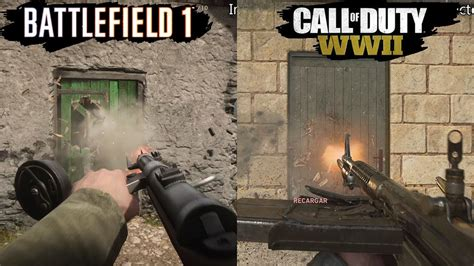 graphics battle battlefield 2 black call of duty wwii vs battlefield 1 graphics comparison