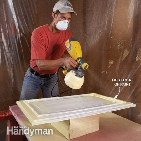 how to spray paint cabinets best 25 spray paint kitchen cabinets ideas on