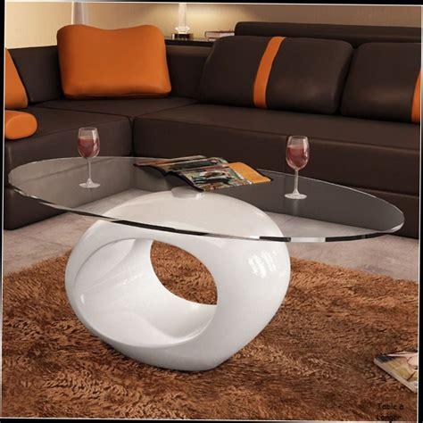 Merveilleux Fabriquer Table Basse Design #4: Table-Basse-Verre-Noir-Fly-Table-Basse-Blanche-Laque-Ovalle-Design-Verre-De-Salon-20140920072622.jpg