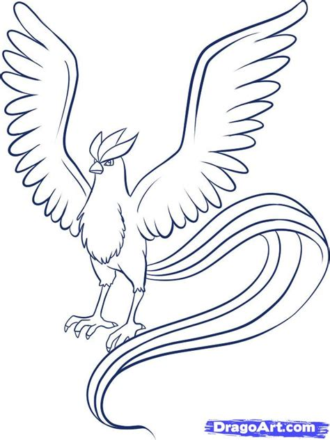 pokemon coloring pages talonflame how to draw articuno step by step pokemon characters