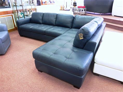 Navy Blue Sectional Sofa Design Options Homesfeed Navy Blue Leather Sectional Sofa