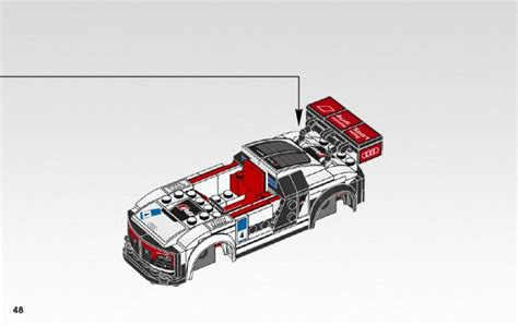 Lego 75873 Speed Chion Audi R8 Lms Ultra lego audi r8 lms ultra 75873 speed chions