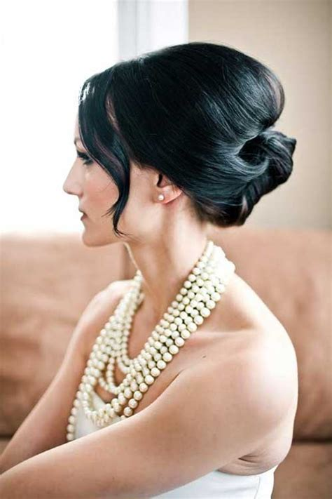 bridal hairstyles dark hair 15 elegant updos for long hair long hairstyles 2016 2017