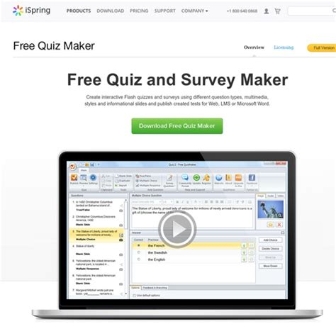 Free Survey Maker - free quizmaker by ispring pearltrees