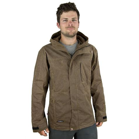 mens outdoor clothing made in usa new wintergreen waxed cotton trail jacket s made