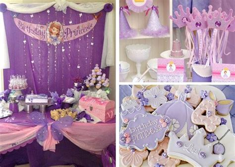Princess Sofia Decorations by Princess Sofia Birthday Decoration Ideas