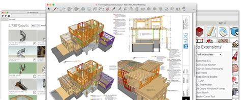 sketchup furniture plans architectural design software skp file sketchup
