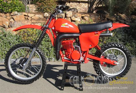 restored vintage motocross bikes for sale 1979 honda cr250 elsinore vintage motorcross dirt bike