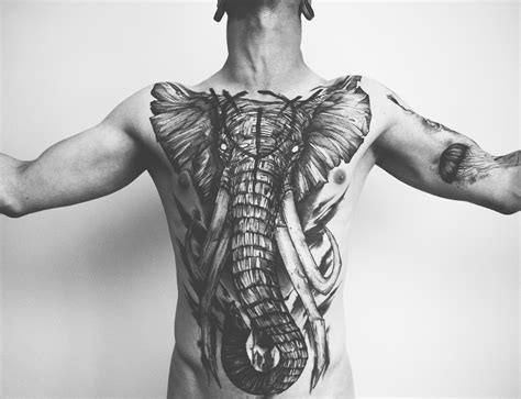 striking animal tattoos that reveal the predator within