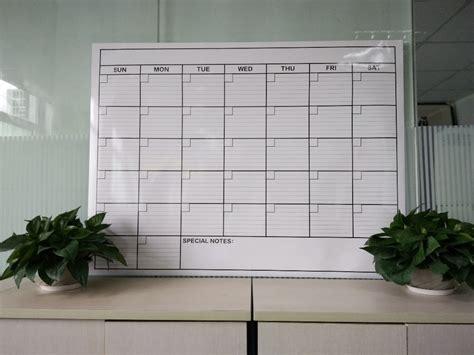 Erase Wall Calendar 2017 Colorful Custom Erase 365 Day Calendar Wall