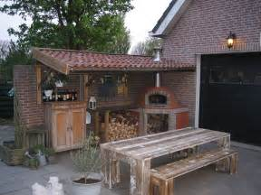 woodfired pizza oven in backyard in zevenhoven flickr