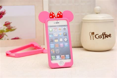Mose For Iphone 6s Plus minnie mouse ears iphone 6 pink kawaii