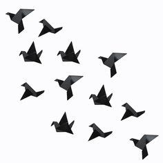 Origami Bird Flying - 1000 ideas about origami birds on origami