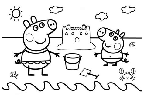 imagenes para pintar de peppa pig dibujos peppa pig para imprimir y colorear dibujos para