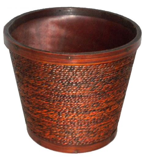 Indoor Pots And Planters by Rope Planter Tropical Indoor Pots And Planters