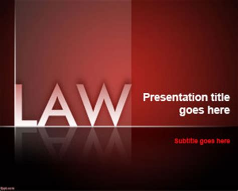 law firm powerpoint template ppt template