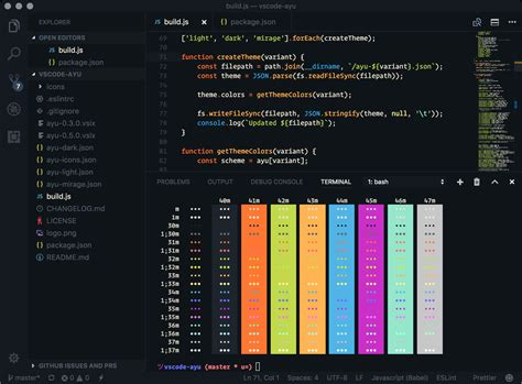 themes color code awesome vscode readme md at master 183 viatsko awesome