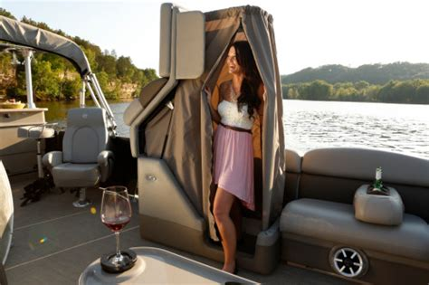 pontoon boats with head educate me about pontoon boats boatingabc