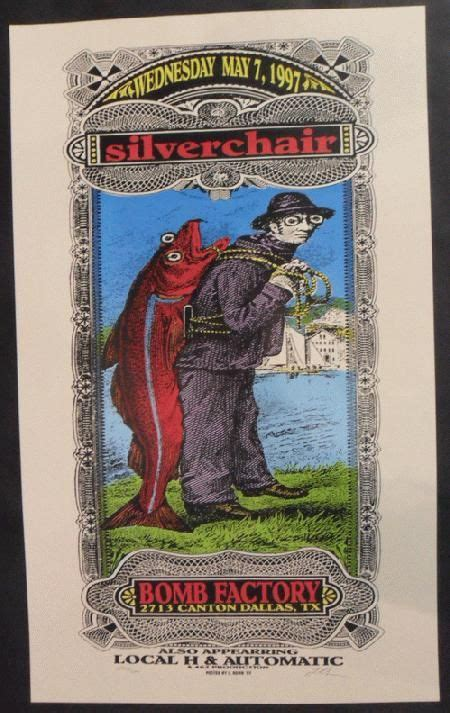 Cool Silkscreened Posters by 320 Best Silverchair From Newcastle Australia Images On