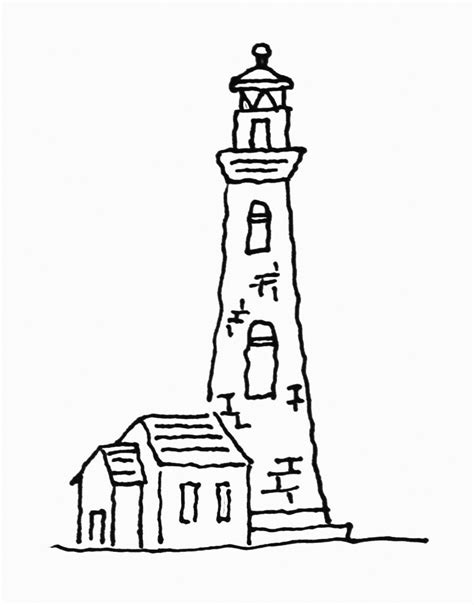 lighthouse printable free printable lighthouse coloring pages for kids