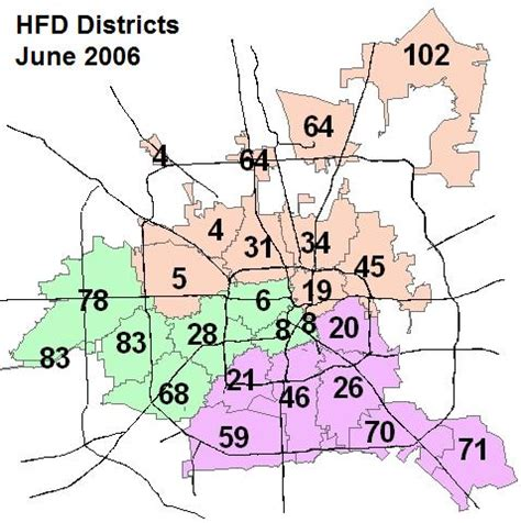 map of houston fire department stations harris county tx the radioreference wiki