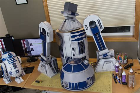 Papercraft For Sale - r2 d2 ae2 size papercraft droid all