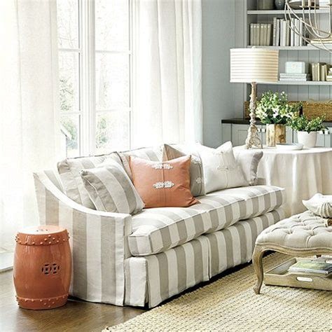 Striped Sofas Living Room Furniture Striped Sofas And Chairs White Striped Fabric Clic Sofa Oversize Chair Thesofa