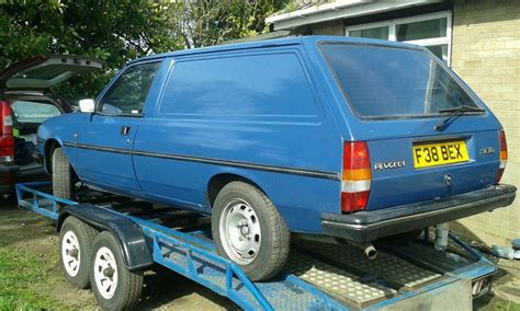 find peugeot british barn find peugeot 305 panel van