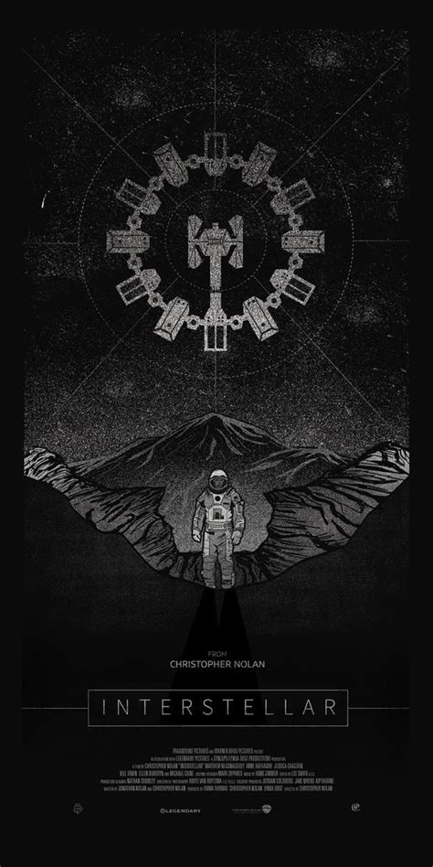Interstellar by Harlan Elam LogoCore | Pôsteres de filmes