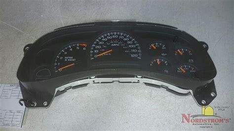 2003 gmc cluster 2003 gmc 2500 speedometer instrument cluster