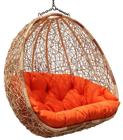 hanging swing chair outdoor estella dual sitting outdoor wicker from my home