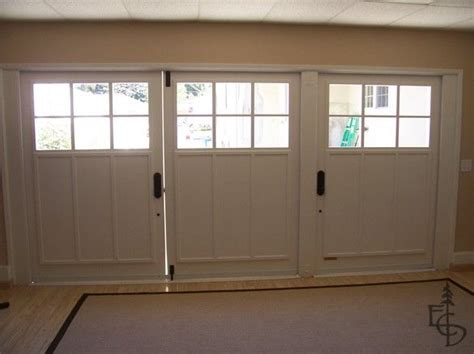 carriage door on garage conversion garage pinterest