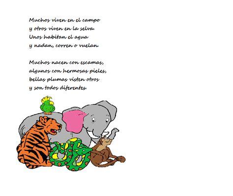 poema de los animales de 4 estrofas que rimen los animales de la granja poemas