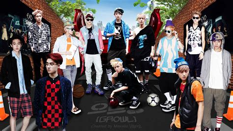 wallpaper exo growl exo growl teaser dekstop wallpaper hd background exo