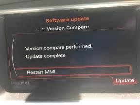 How To Check Audi Mmi Version 2016 Audi Map Update Service A4 A5 Q5 A6 A7 A8 Q7 A1 Q3