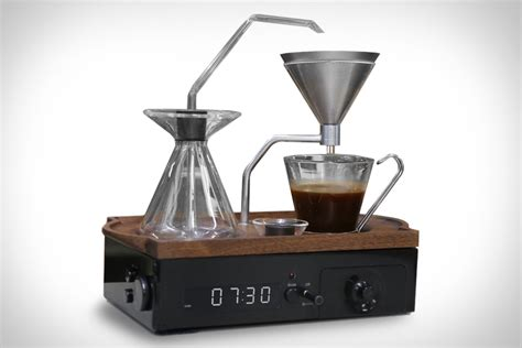 up to coffee or tea with the barisieur alarm clock