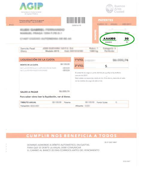 calendario de pago de patentes uruguay 2016 arba patentes automotor boleta imprimir