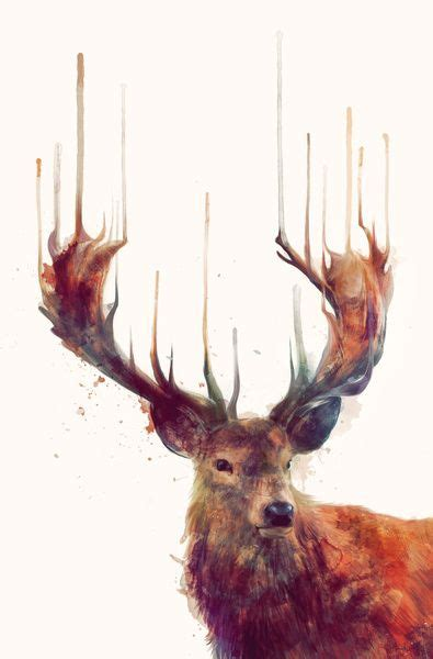 watercolor tattoos hamilton 281 best tattoos deer images on