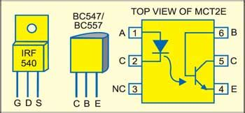 transistor bc547 compatible solid state relay detailed circuit diagram available