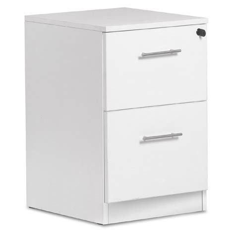 Modern File Cabinet Series 100 Modern White 2 Drawer File Cabinet Eurway