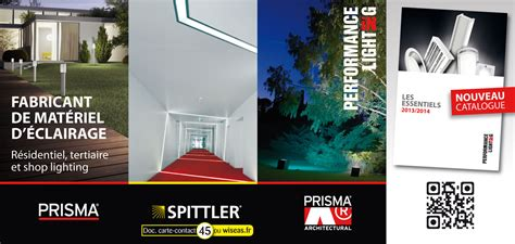 prisma eclairage catalogue performance in lighting prisma spittler