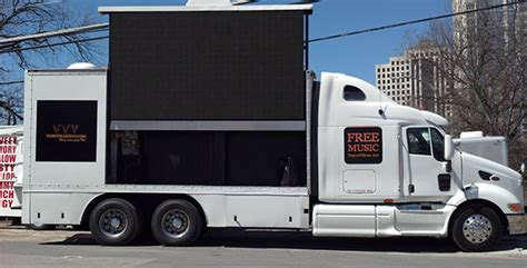 mobile by conduit mobile led truck for rent viral views