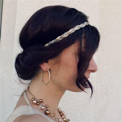 easy hairstyles headband headband bun hair tutorial ma nouvelle mode