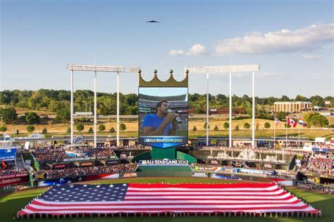 game design kansas ballpark review kauffman stadium kansas city royals