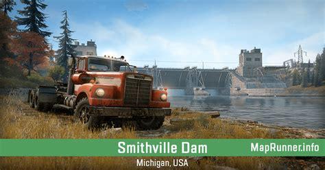 smithville dam michigan usa snowrunner interactive map