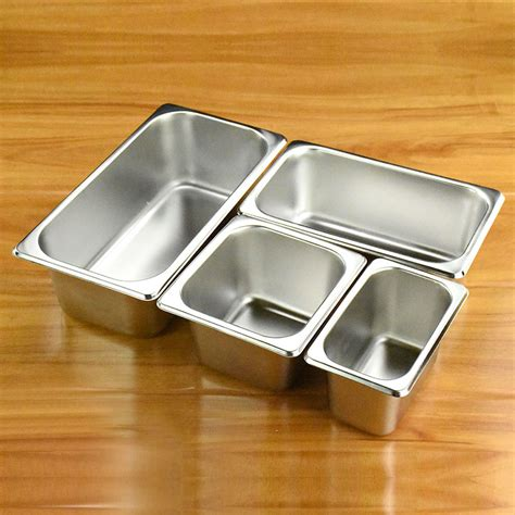 Promo Food Pan Peniris 1 1 Stainless Steel Mutu Pan 11100p 304 stainless steel pans malatang food square pots rectangle fracition plate score basin in