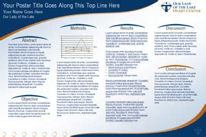 powerpoint poster template 36x48 our of the lake scientific poster powerpoint