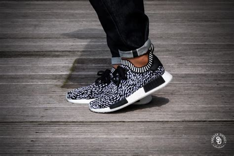 adidas nmd  pk core black footwear white